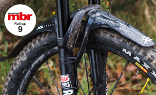 Crud Crudcatcher Soft Nose Front Bike Cycle MTB Mudguard Q//R 420mm x 150mm Grey